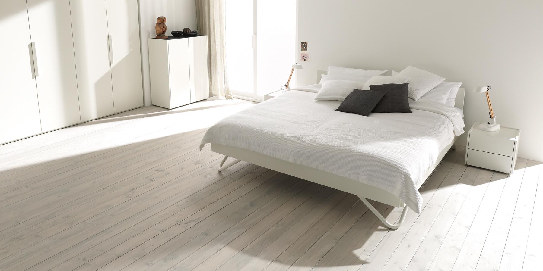 Unkompliziertes Bett jederzeit nachträglich freistellbar